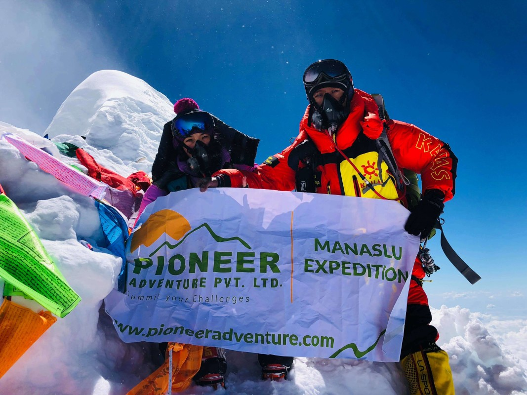 Successfully scaled Mt. Manaslu 8,163m, 2018
