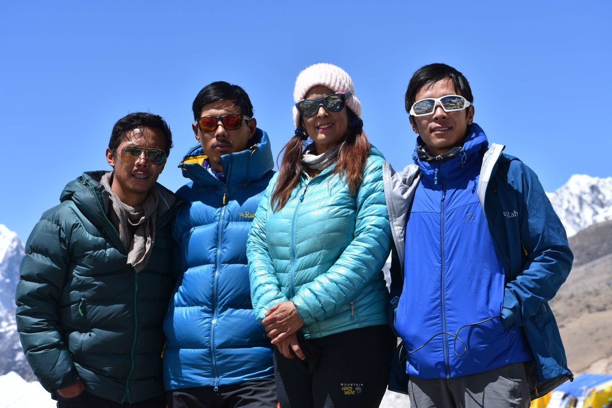 Former Miss India finalist scales Mt Everest