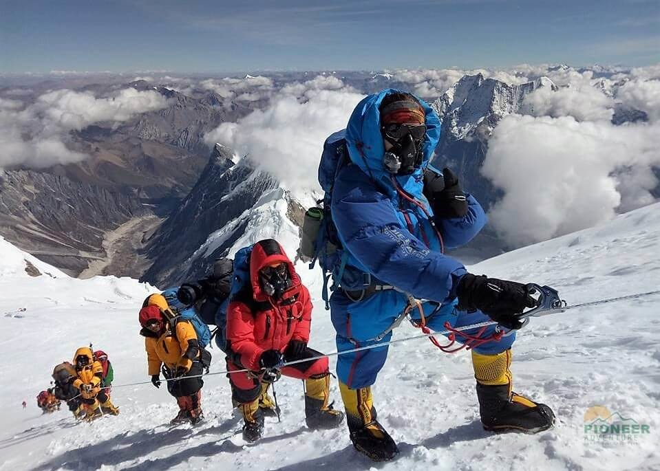 Mount Manaslu ascended 26 Sept. 2017