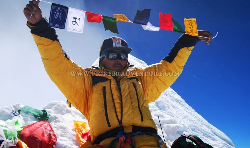 New World Record Set By Our MD. Mr. Mingma Dorchi Sherpa