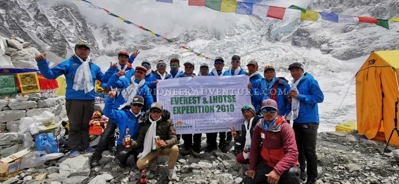 List of Mt. Everest Summiteers, Spring 2019