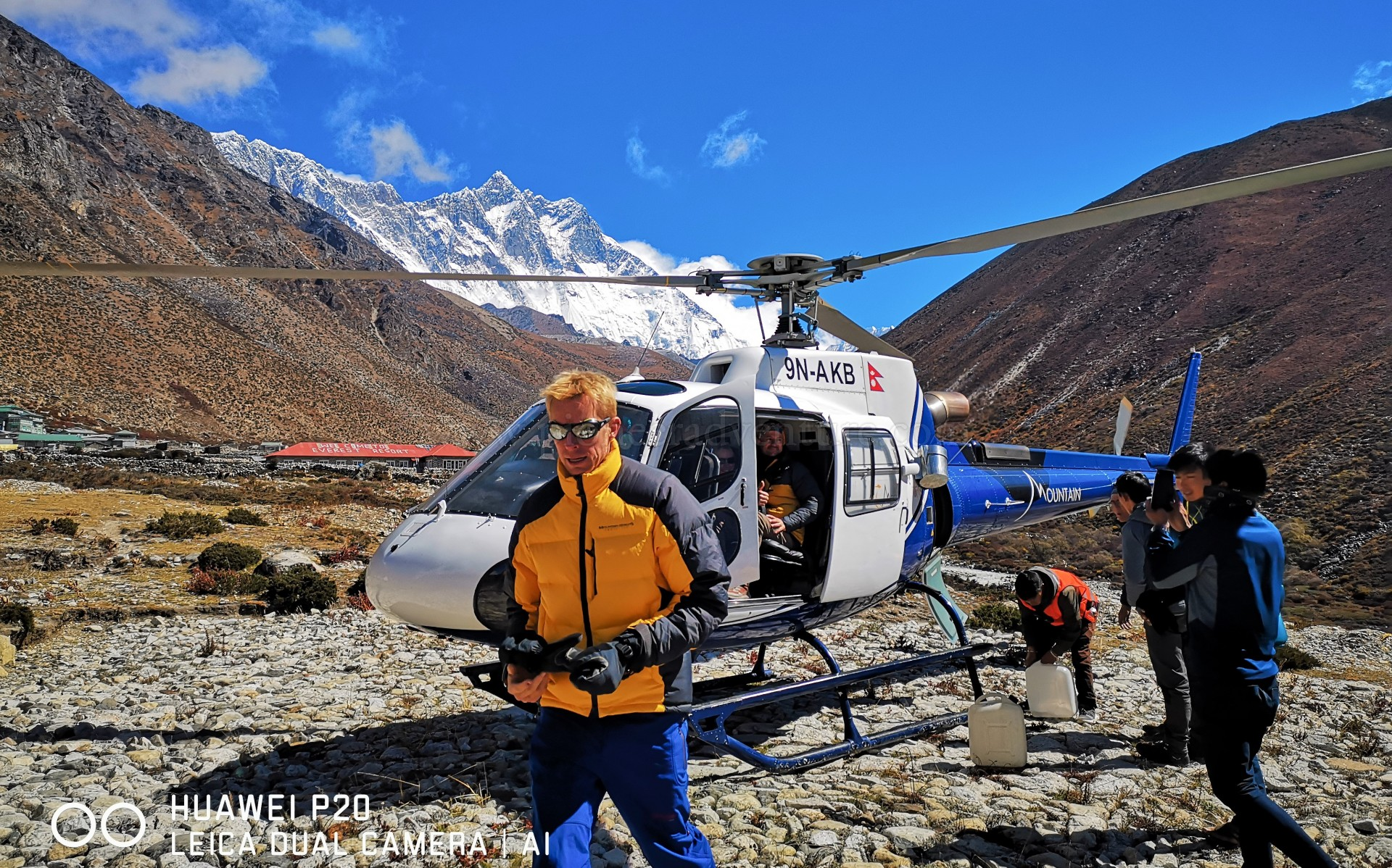 EBC Heli Tour With Breakfast At Kongde