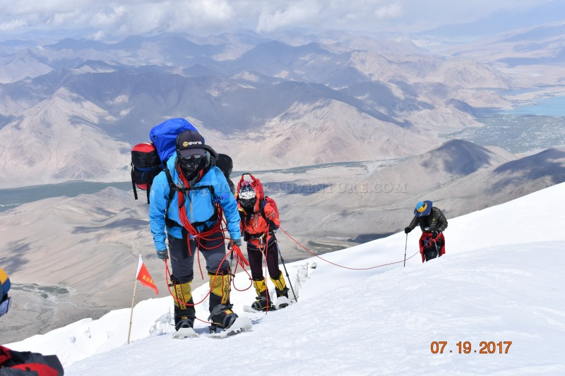 Expedition over 7000m