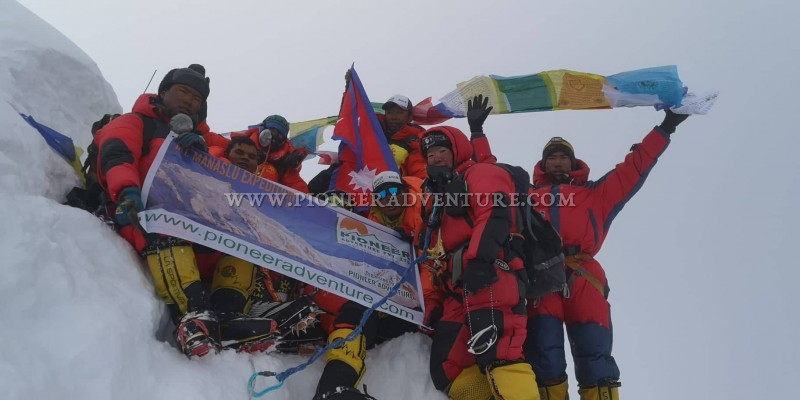 List of Manaslu Summiters