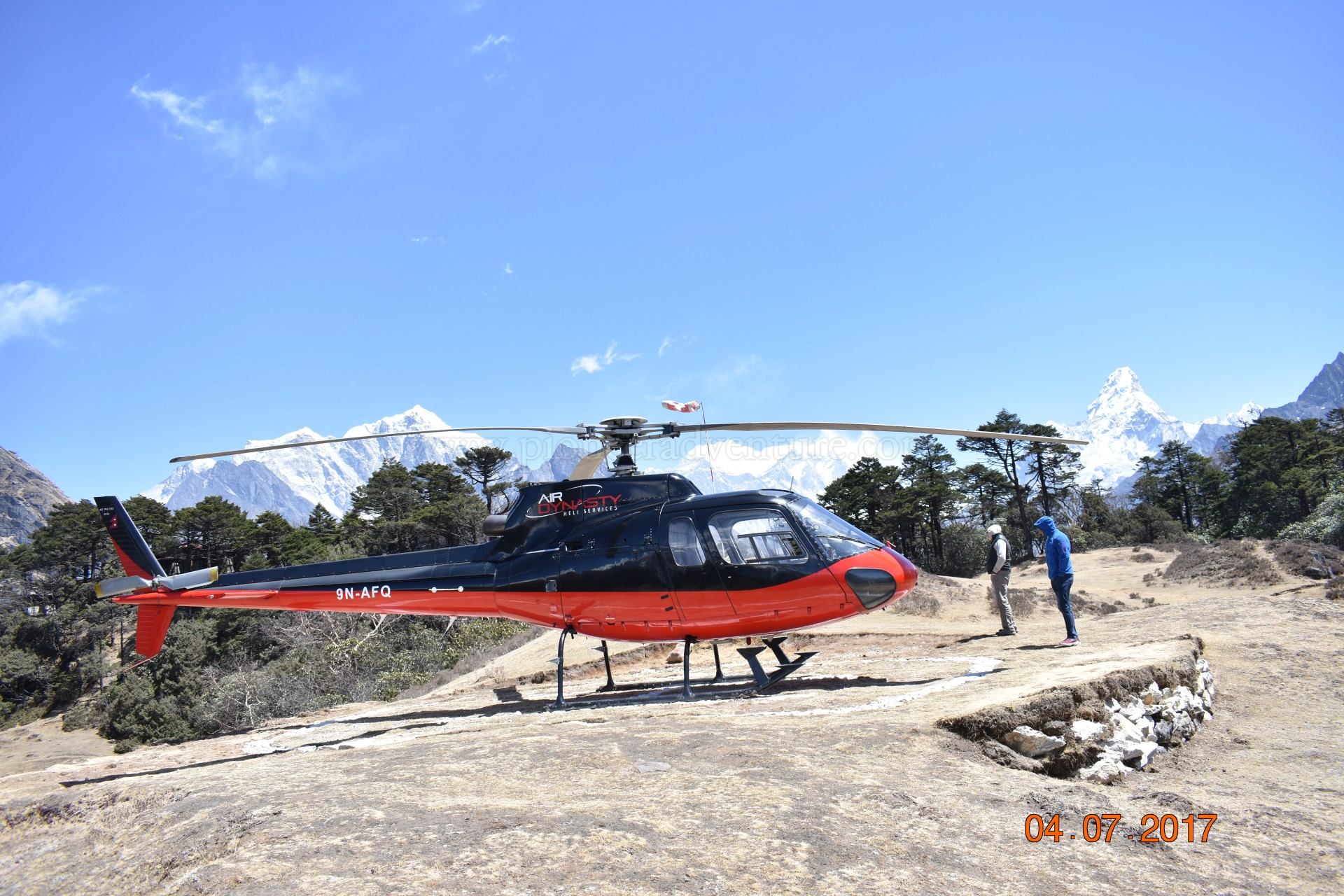 EBC trek with Helicopter Mountain Flight