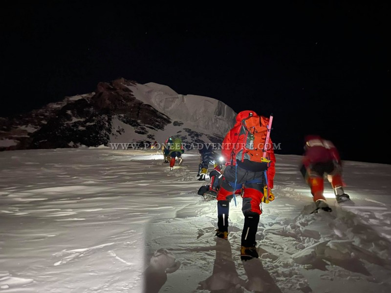 PIONEER K2 EXPEDITION 2021 FINAL SUMMIT PUSH 100% SUCCESS