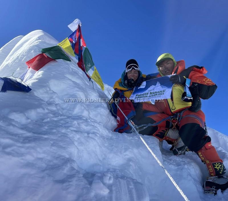 Pioneer Manaslu Expedition 2021 Summit Update