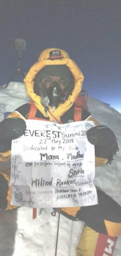 A message of Gratitude-Everest Expedition, 2019